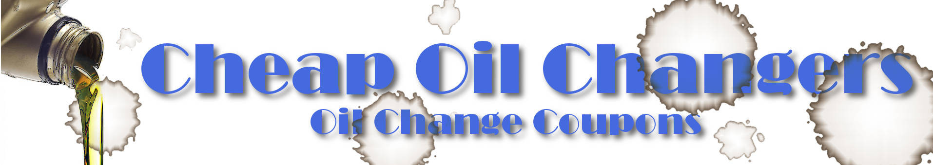 Cheap Oil Change Coupons