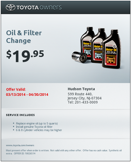 Oil Change Coupons Nj Honda