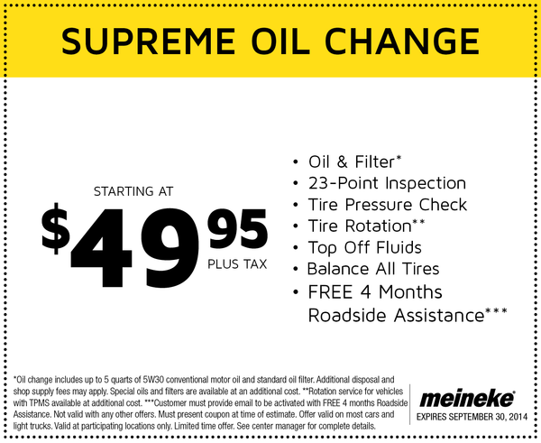 Meineke Oil Change Archives - Cheap Oil Change Coupons